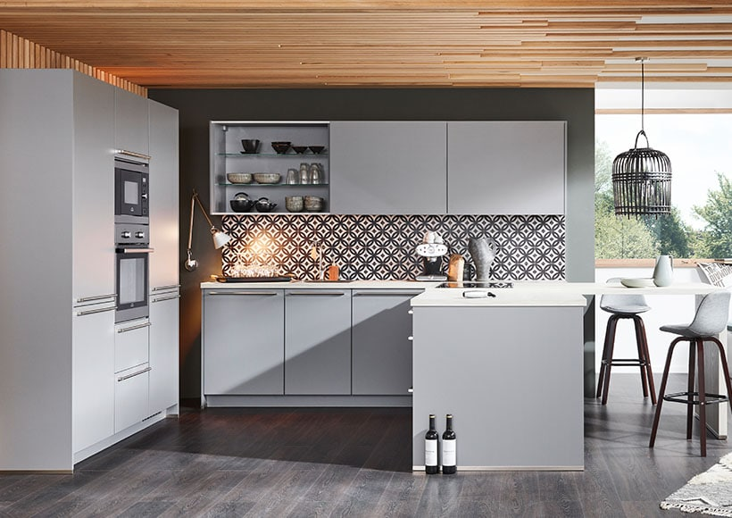Nobilia Küche LASER - Möbel Völkle